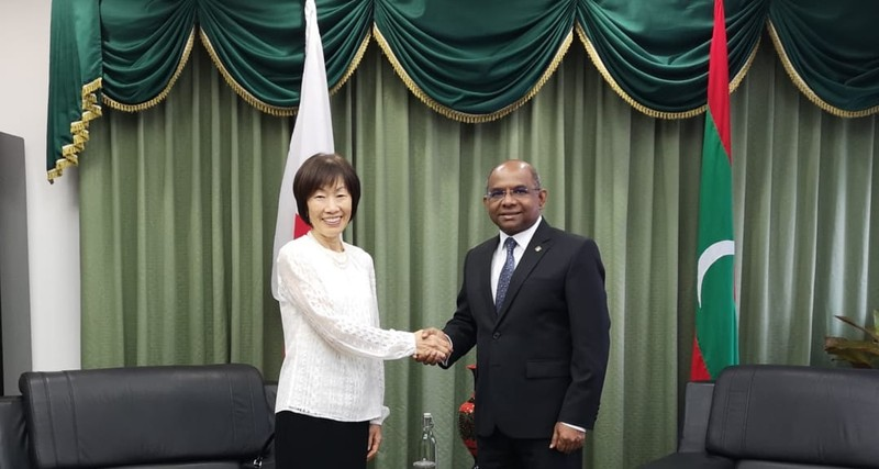 New Ambassador of Japan calls on the Foreign Minister Image 1