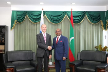 Newly Appointed Finland Ambassador calls on the Minister of  ... Image 1