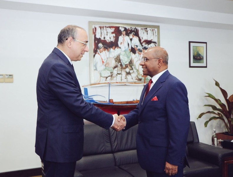 The New Ambassador of Azerbaijan calls on Foreign Minister Image 1