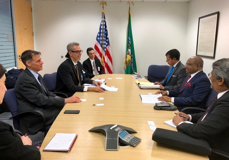 Foreign Minister Shahid meets with US Treasury and USAID Image 1
