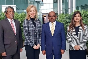 Minister Shahid meets Canadian Acting High Commissioner Image 1