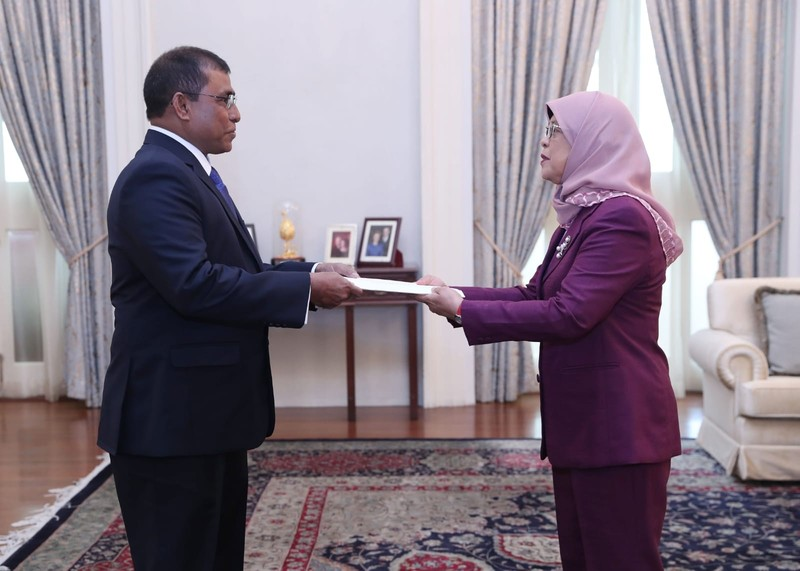 Ambassador of Maldives to Singapore His Excellency Dr. Abdul ... Image 1