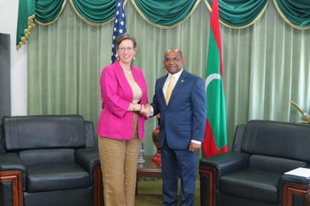 United States Ambassador to the Maldives calls on Foreign Mi ... Image 1