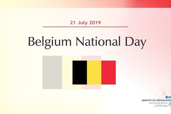 Minister Shahid sends National Day Greetings to Belgium Image 1