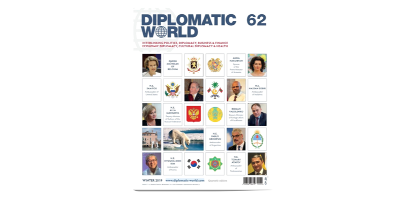 Ambassador Sobir gives an interview to the Diplomatic World: ... Image 1