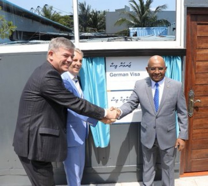 VFS Visa Application Centre opens in Male' Image 1