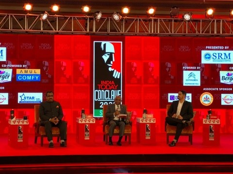 Minister Shahid speaks at the India Today Conclave Image 1